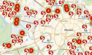 Магазины Пятерочка рядом на карте