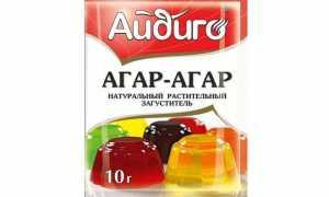 Агар агар в магазине Пятерочка